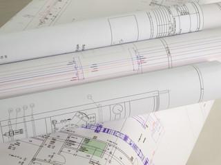 Pläne-technische Zeichung