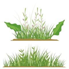 Grass Design Elements