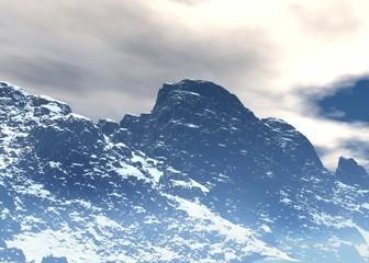 Arctic 3d landscape