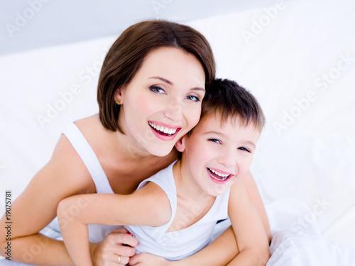 фото мать и сын частные
