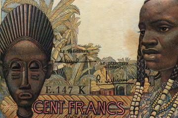 Billet africain