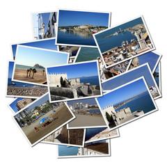 Photographs of Peniscola, Mediterranean city in Spain
