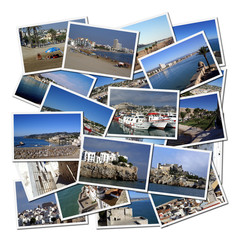 Photographs of Peniscola, Mediterranean city in Spain