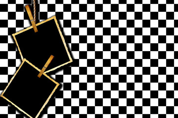 Simple checkered background