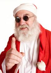 cooler Weihnachtsmann
