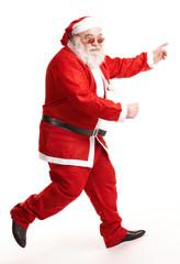 Weihnachtsmann läuft