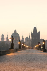 Wall Murals Prague prague charles bridge