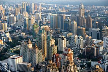 View of Bangkok, Thailand..