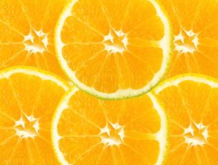 Citric fruit background