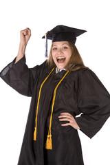 Exicited graduate