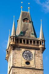 Ancient Watch tower in Prague