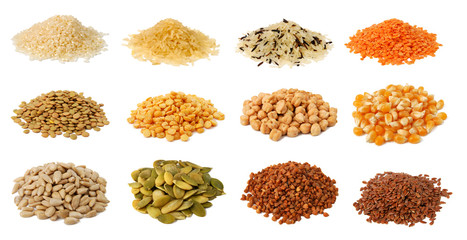 Collection of grains