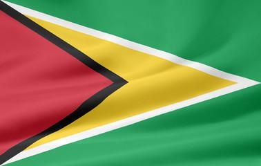 Flagge von Guyana