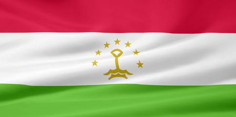 Flagge von Tadschikistan