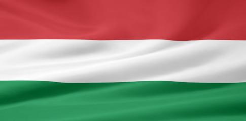 Flagge von Ungarn