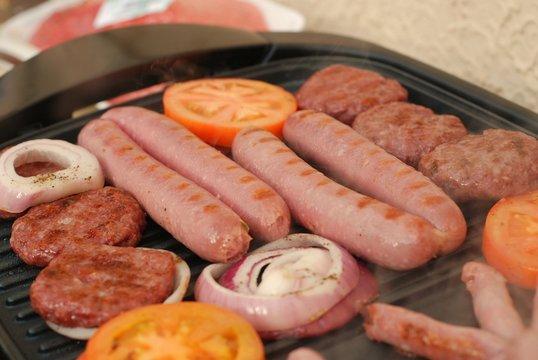 BBQ Mini Burgers & Hotdogs