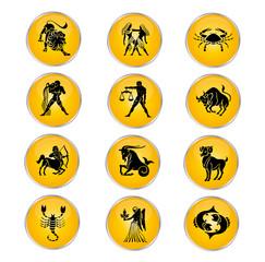 Sternzeichen Kollektion Gelb