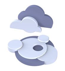 cloud's weather symbol