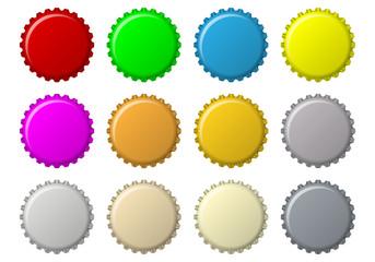 Button Flaschenkapsel