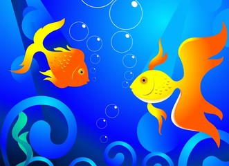Gold fishes