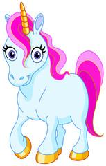 In de dag Pony Cute unicorn