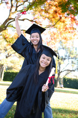Cute Girls at Graduation
