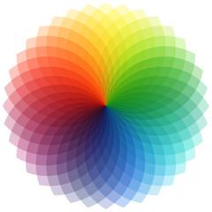 Spectral flower
