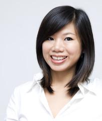 Portrait of Asian Educational / Business Woman.