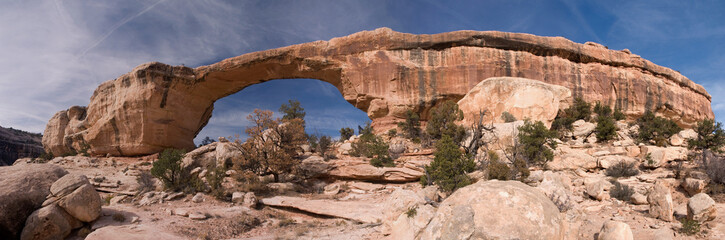 Photo sur Plexiglas Parc Naturel Owachomo Bridge, Natural Bridges National Park