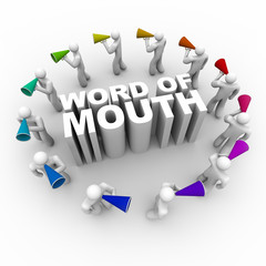 Word of Mouth - People with Bullhorns