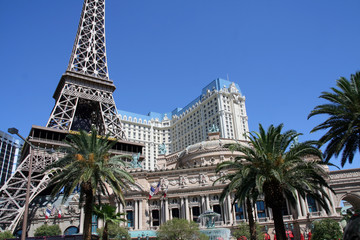 Foto auf Leinwand Las Vegas PARIS LAS VEGAS
