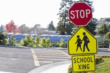 School Crosswalk Signs