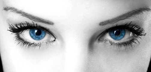 Blue Angel Eyes
