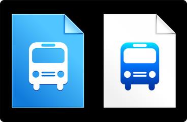 Bus on Paper Set