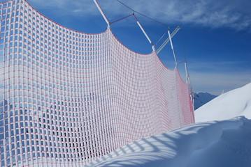 Protezione su pista da sci