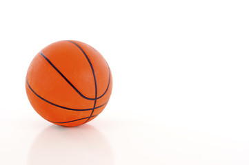 Basketball - Isolated over a white background