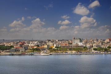 Havana skyline and bay
