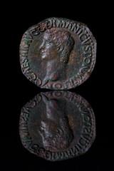 AncientCoinReflection-Caligula