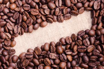 coffee background and banner