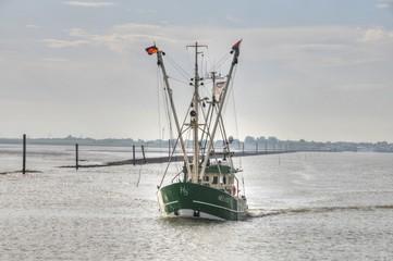Fischkutter auf der Nordsee