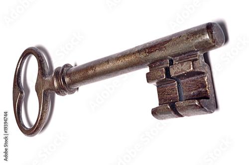 """Ancienne Clef grosse clef ancienne"""" photo libre de droits sur la banque d'images"""