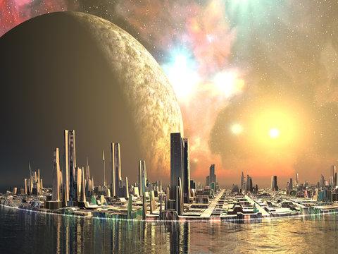 Utopia Islands - Cities of the Future