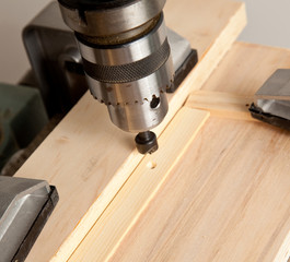 Drilling a countersunk hole
