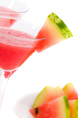 Close Up Watermelon Drinks
