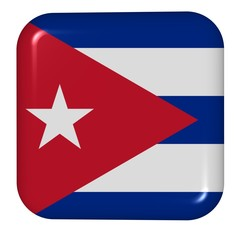 button in colors of Cuba