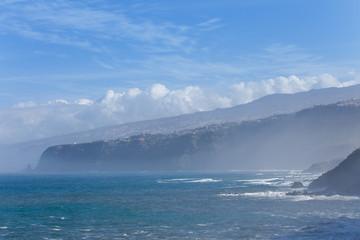 Ausblick von der Küste von Puerto de la Cruz - Teneriffa