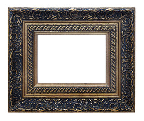Picture photo frame (isolated with clipping path)