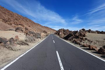 Straße bergauf - Upwards