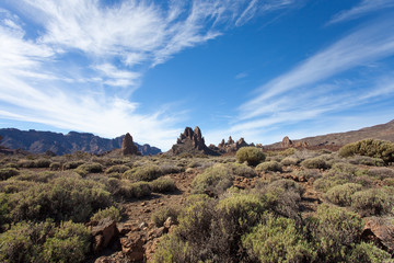 Vulkanlandschaft von Teneriffa - Vulcanian Tenerife
