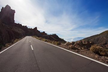 Durch die Berge reisen - Travelling through mountains